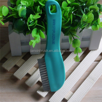 Two rows of teeth human health care lice combs for lice treatment
