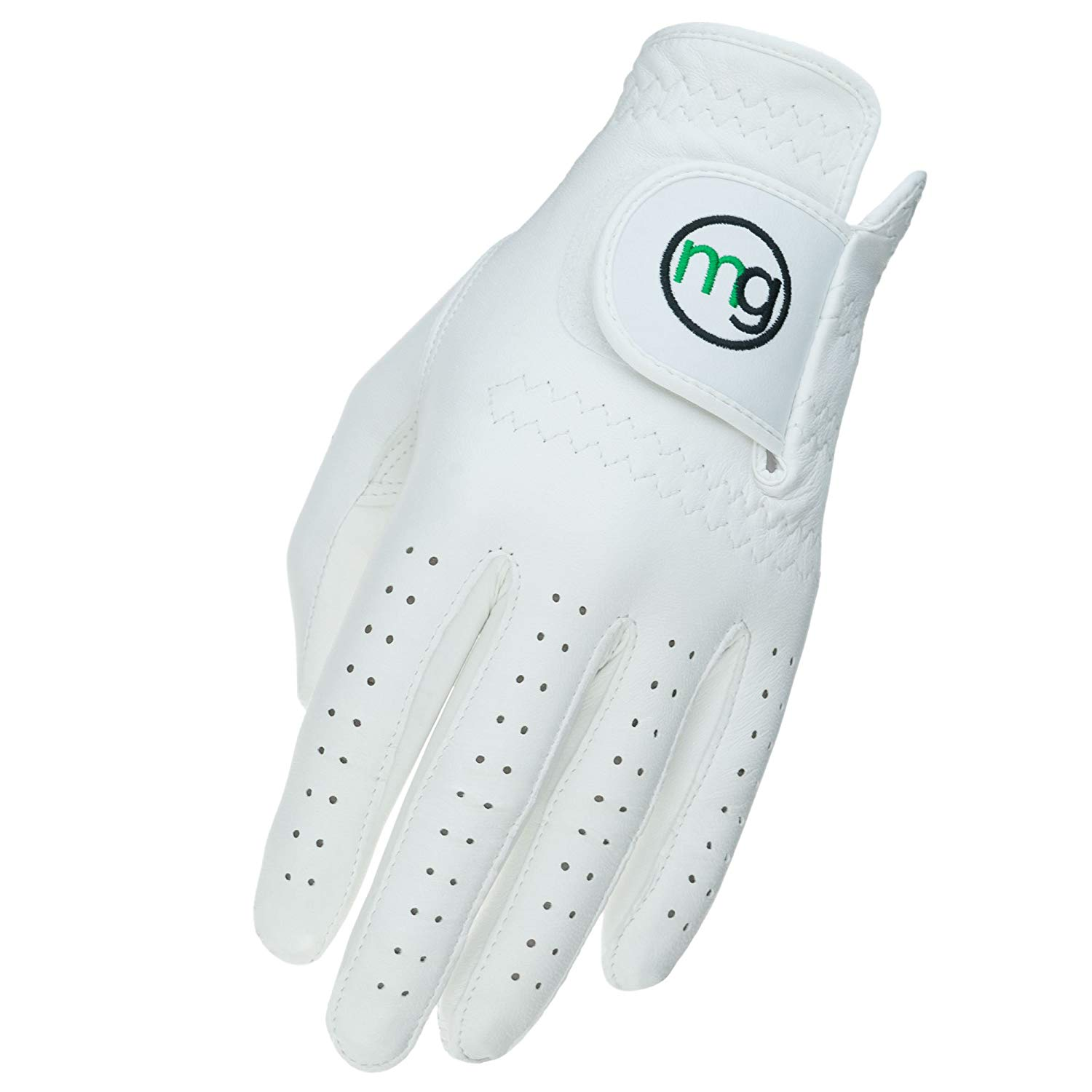 MG Golf DynaGrip All-Cabretta Leather Golf Glove (Ladies Sizes)