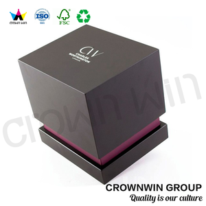 DongGuan CrownWin Luxury wholesale rigid candle gift box