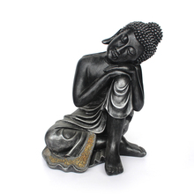 2017 customized polyresin sleeping buddha statue for sale