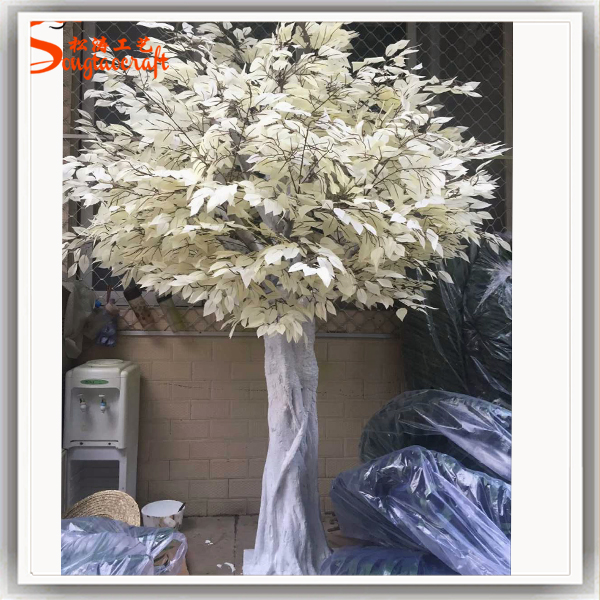 Plastic Artificial Wedding Tree Of Table Centerpieces White Decor