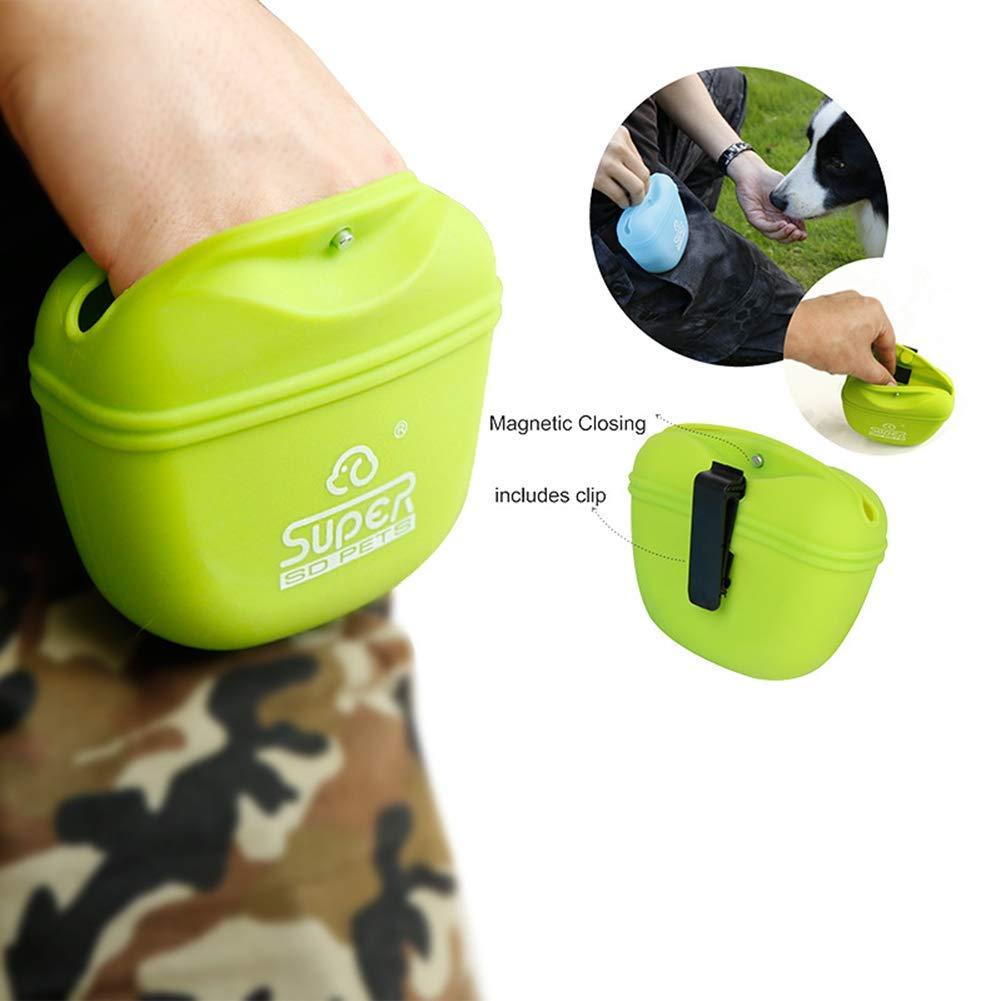Chicdog Pet Supplies Dog Training Pack Dog Food Bag Dog Training Bag Training Dog Bag Outdoor Silicone Bag
