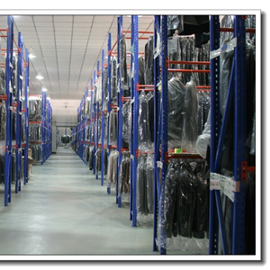 Warehouse Industrial Hanging Garments Storage Rack System