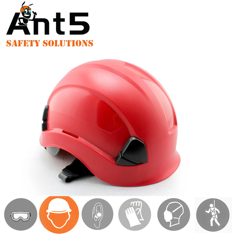 019a0ea459f CE ANSI certificate Hot sale High Strength ABS worker safety helmet with 6  point cushion cap liner