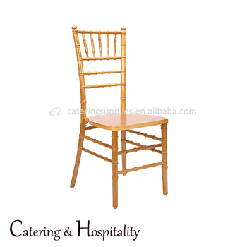 China Wholesale Restaurant Bulk Party Gold Wood Wedding Chiavari Chair With  Pad For Hotel Banquet - Buy Wood Chiavari Chair,Wholesale Chiavari