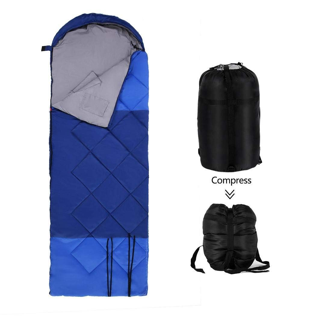 Waterproof Sleeping Bag Compressed Storage Bag Portable Oxford Cloth Envelope Lazy Bag For Outdoor Traveling Hiking Camping Buy Now Camp Sleeping Gear Sports & Entertainment
