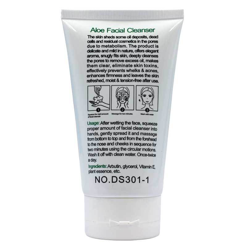 OEM deep moisturizing aloe vera foaming facial best cleanser,bubble cleanser