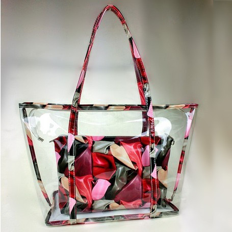 fashion women transparent handbag ,lady hand bag,Hobo tote Bags