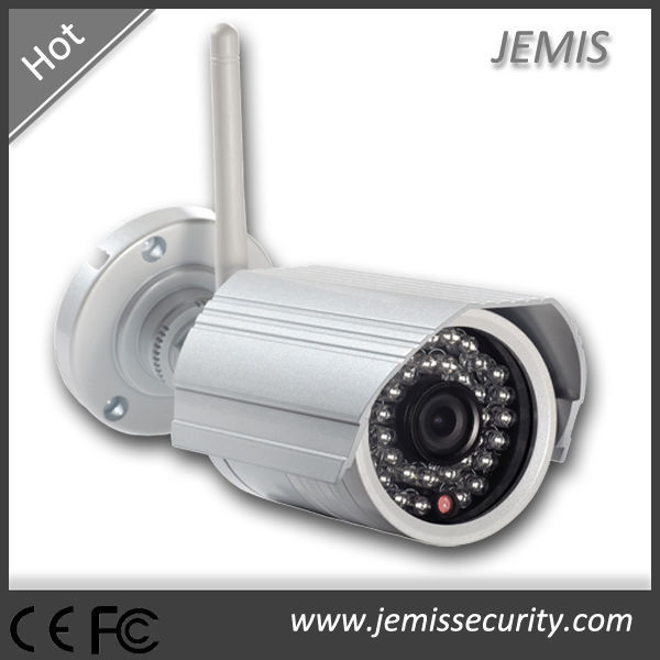 Motion detection, email alarm p2p bullet network wireless 1080p hd ip cctv security camera