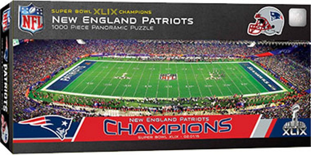 Masterpieces NFL Super Bowl XLIX 2015 Stadium Panoramic Jigsaw Puzzle (1000 Piece)