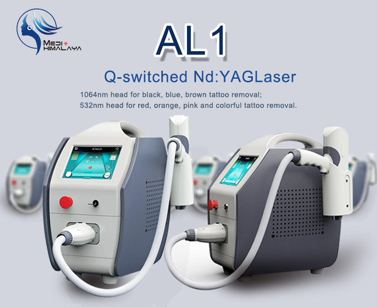 Q switched nd yag laser tattoo removal and nail fungus for Laser tattooing machines