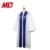 White Customized Hand Made Piping and Embroidery Cross Church Clergy Robes
