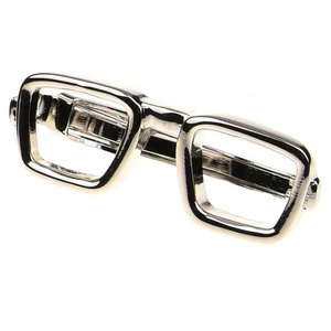 Competitive price Glasses For Classic magnetic tie clip Business Men Gifts Fashion Design Novelty Clips