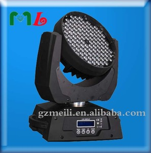 2015 guangzhou pro stage light rgbw 4in1 108 3 w led moving head wash light