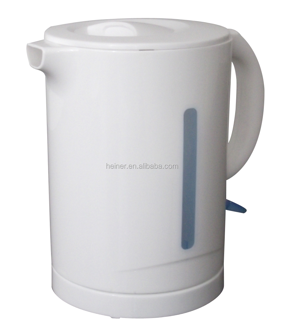 Multi-protection and cordless 1.7L plastic electric kettle manufacture