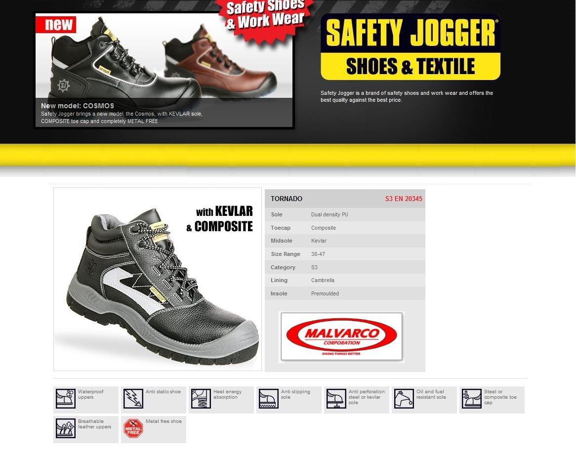 Jogger Safety Tornado Safety Jogger fBR6nwx
