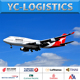 Door to door air freight shipping rates from China to Belgium
