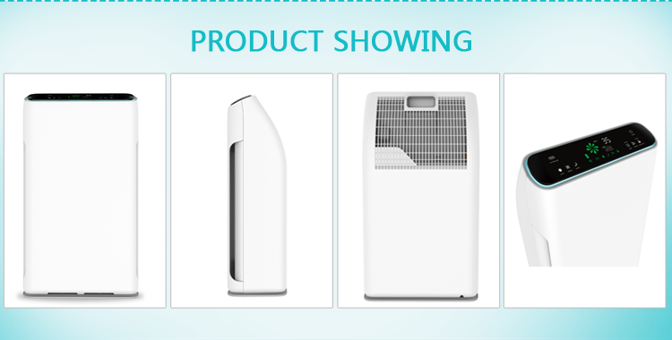 2019 Amazon trending product Olansi floor standing portable room ionizer air purifier for home