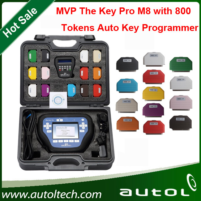 2016 высокая рекомендуется с 800 жетонов MVP Pro M8 ключевые Prpgrammer MVP Pro диагностика самый мощный ключевой инструмент программирования