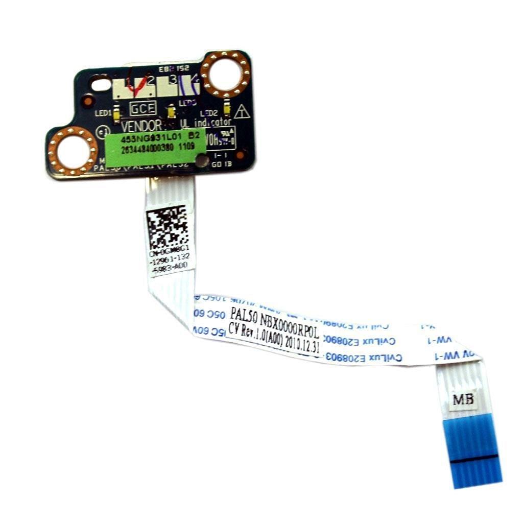 NEW Dell Genuine Latitude E6420 LED Indicator Board LS-6595P - GM8G1