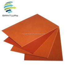 Electrical insulation phenolic cotton cloth laminated sheet, bakelite sheet 3025