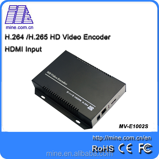 Hdmi Video Encoder For Iptv Streaming Onvif Monitoring H.264 Hardware Encoder Rtsp/http/rtmp Server Streaming Device