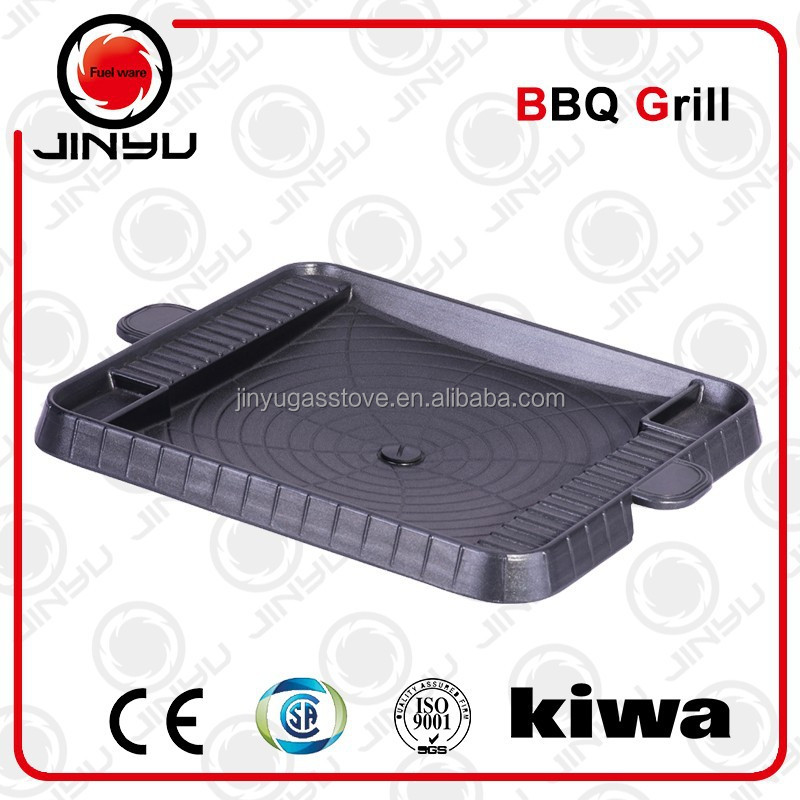 gas type cast alum bbq grills with non stick coating GP-19