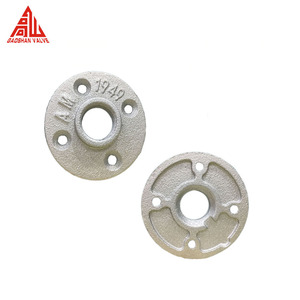 1/2 Inch 3/4 Inch Furniture Galvanized Pipe Floor Flange