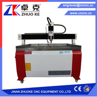 China CNC router Nameplate engraving machine advertisement logo making machine 1212