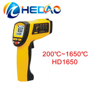 Fast delivery high quality portable digital infrared oven temperature meter