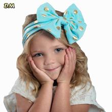 Cotton Baby Turban Headband Enfeites De Cabelo Infantil Accessories Wholesale Head Band Hair