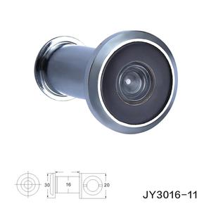 Hot Sale 200 Degree Acrylic Lens Chrome zinc alloy Door Eye Viewer Peephole