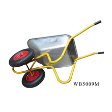 High quality zinc wheel barrow wb5009M