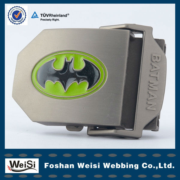Professional Customized Aluminium Craft Alloy Batman Belt Buckels