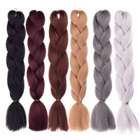 Hot Sale African hair extension jumbo synthetic big braid hair for women