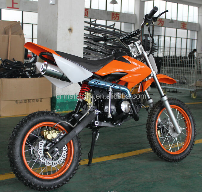 Powerful 4 Stroke Electric Start 125cc Dirt Bike For Adult