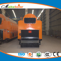 Biomass Pellet Sadust Rice Husk Paddy and Firewood fired Steam Boiler