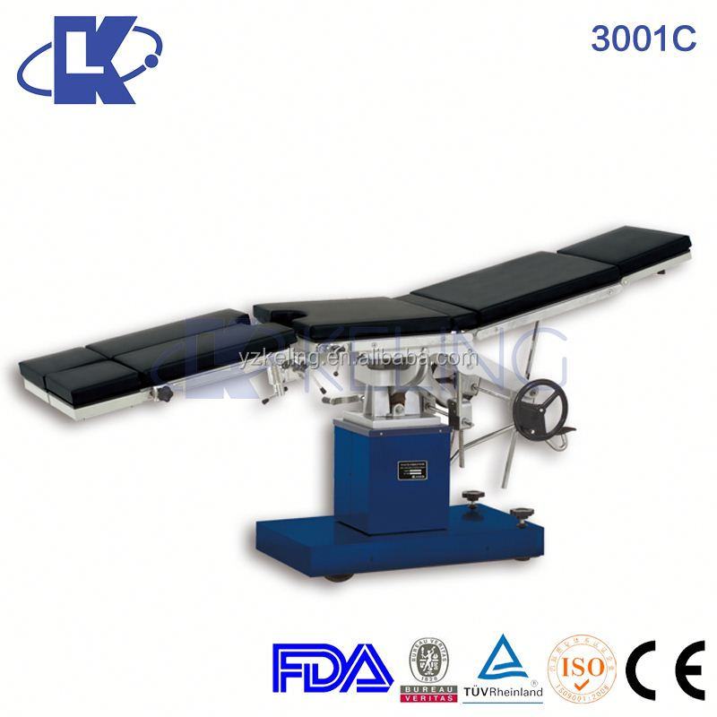3001C Manual Multi-Functional Operating Table gynecological operating table pediatric operating table