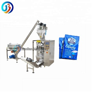shanghai price high capacity JB-420F automatic 500g 1kg baby milk soybean powder packing machine with auger filler