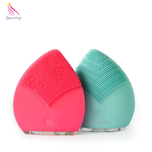 Beauty Salon Material Home Use Sonic Facial Cleansing Brush Equipment