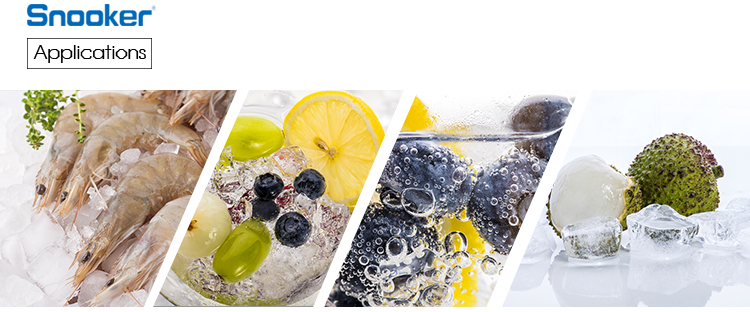 Snooker Commerciële Industriële Zee/Zout Water Vlok/Chips/Slice Ice Maker Making Machine 1.5 T Voor vis /zeevruchten