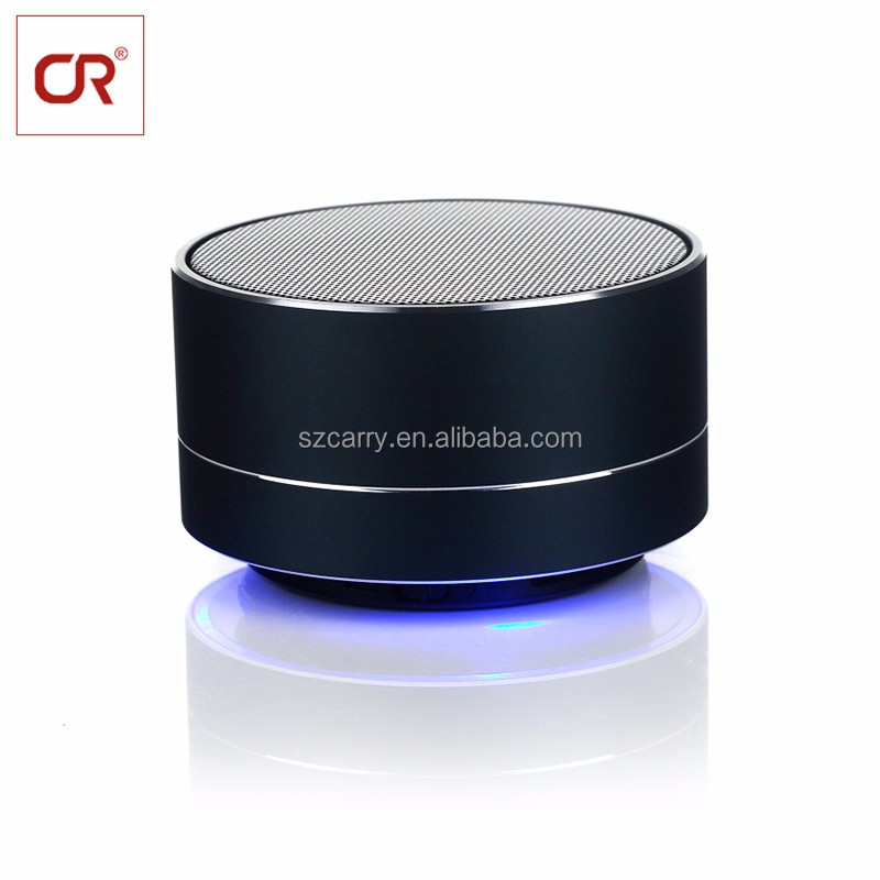Hand Free Talk Inbuilt Mic TF Slot Mini LED Wireless Remote Control Speaker <strong>Bluetooth</strong>