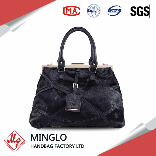 wholesale cowhide leather handbag