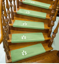Cheap best quality new design LED non slip light stair carpet