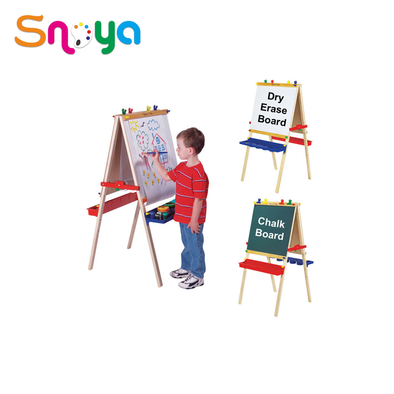 Mini painting easel wooden desk easel stand