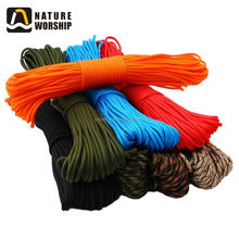 9 Strands Outdoor Camping Survival 550 Nylon Parachute Rope Cord Strings Wholesale