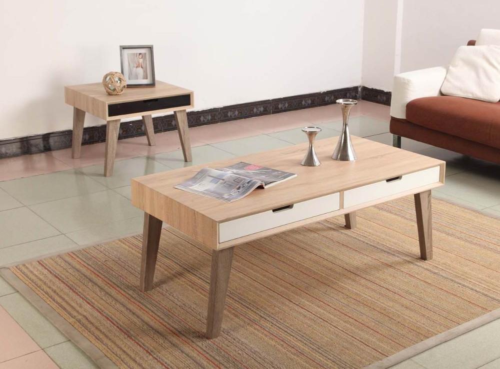 Fabriquer une table basse scandinave 20170606003221 Table basse scandinave avec tiroir