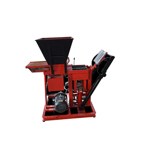 red soil brick machine in Malaysia ALA2-25 compressed brick making machine