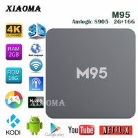 M95 Bluetooth 4.0 android 5.1 tv box dual tuner box to see tv free