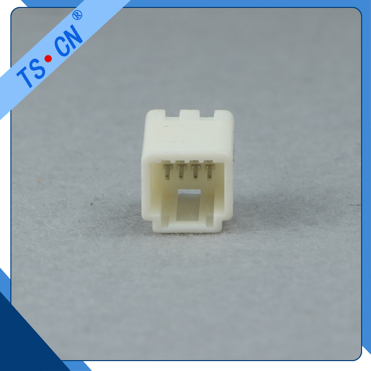 8 PIN Plastic Waterproof Composite Automotive Connector white